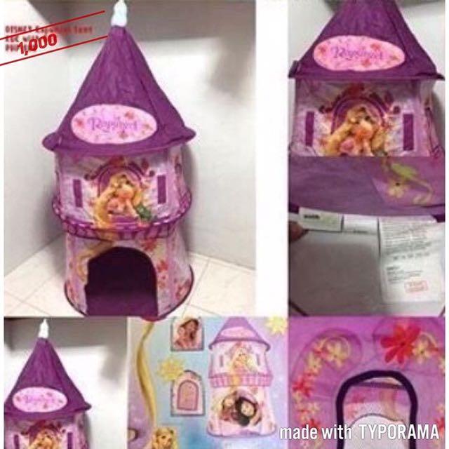 Rapunzel Disney Tent