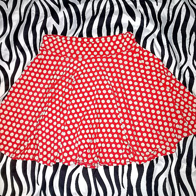 Red And White Polkadots