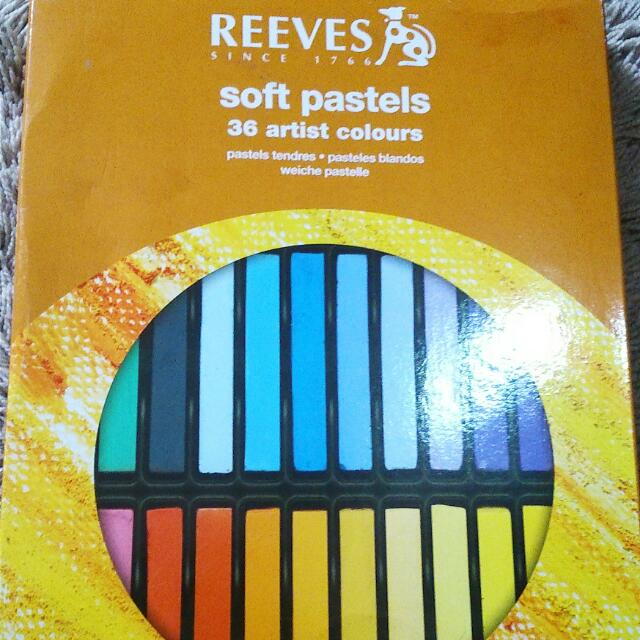 REEVES Soft Pastels 36 Artist Colours