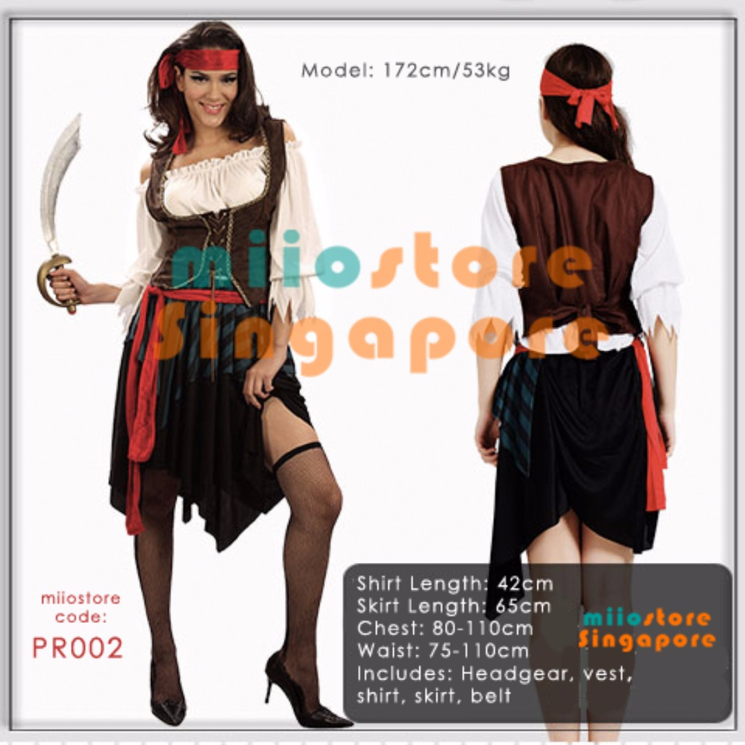 14d058a9e51 RENT BUY PIRATE COSTUMES MALE FEMALE PIRATES OF THE CARRIBEAN JOHNNY ...
