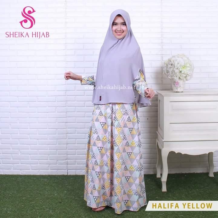 RG3320 Gamis Syari Terbaru 2017 Murah Wanita Baju Murah Hijab Baju Pesta Baju Lebaran Modis Maxi New