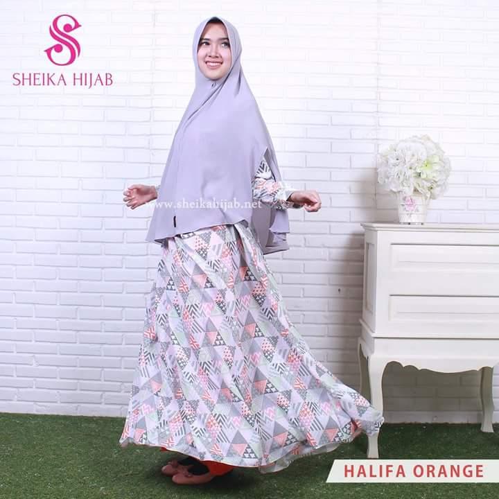 RG3322 Gamis Syari Terbaru 2017 Murah Wanita Baju Murah Hijab Baju Pesta Baju Lebaran Modis Maxi New