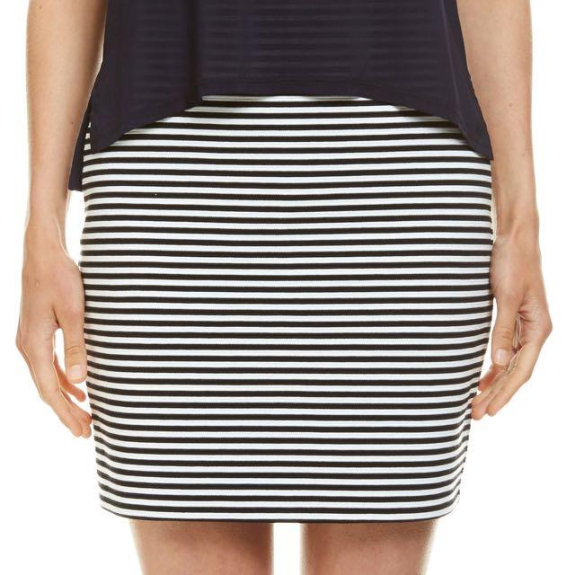 Saba Strip Skirt