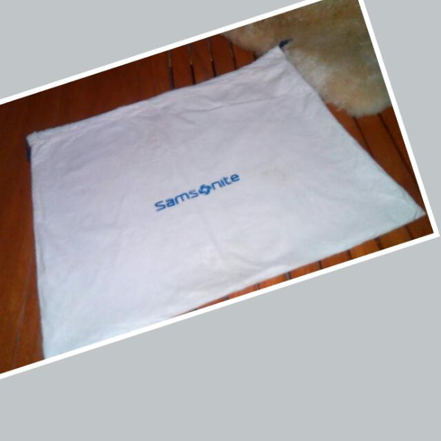 Samsonite Cotton Drawstring Dust Bag