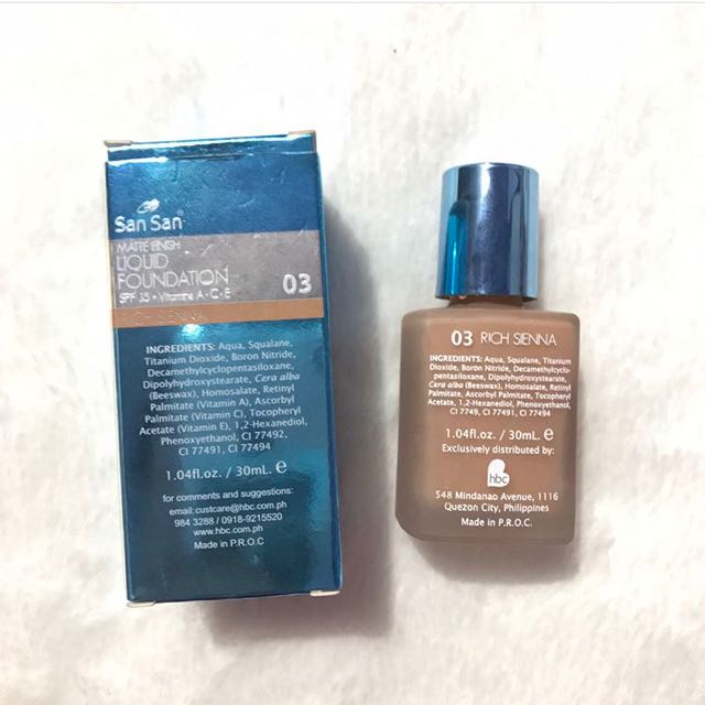 San San Liquid Foundation