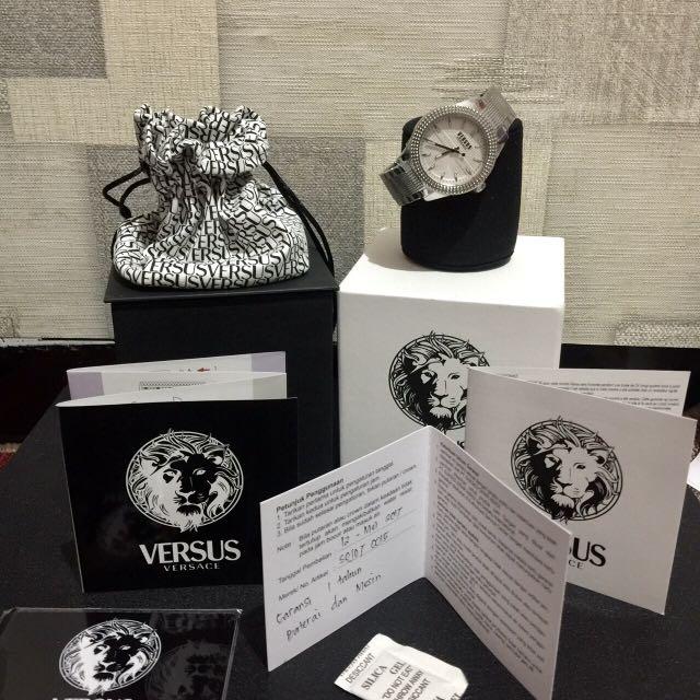 Silvering Watch VERSUS BY VERSACE ORIGINAL