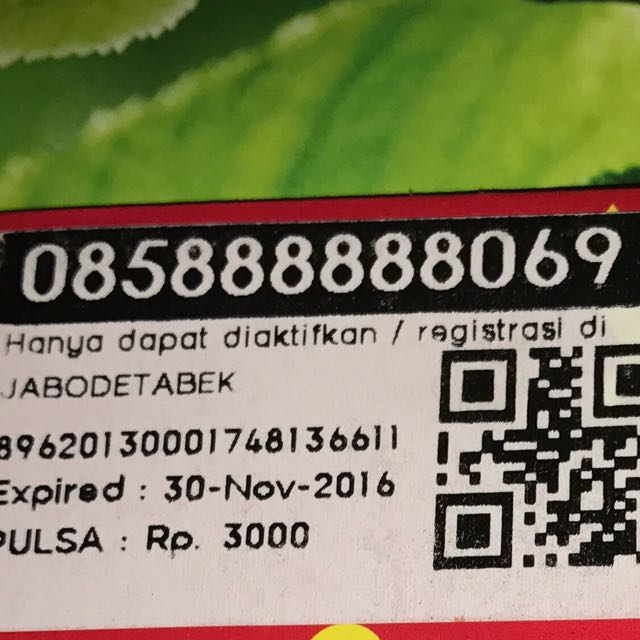 Sim Card Indosat