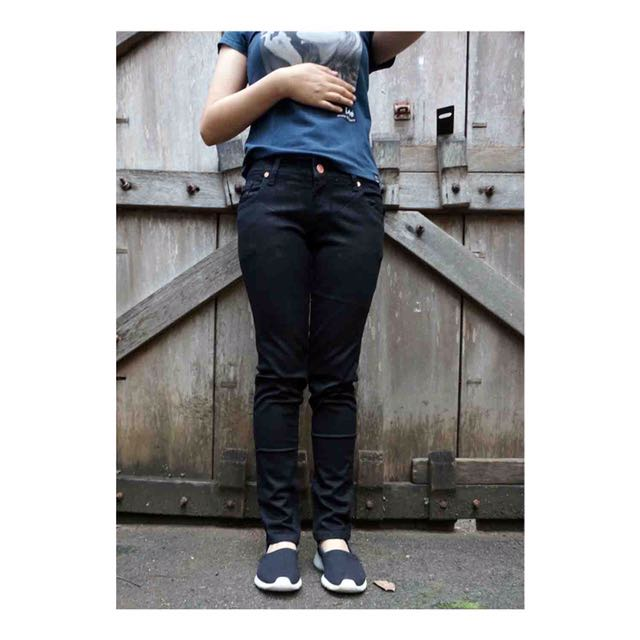 Skinny Stretch Black Jeans