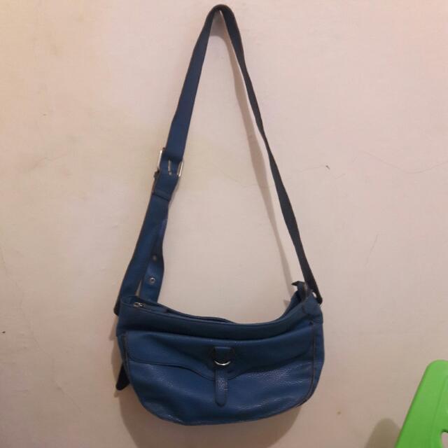 sling bag merk rabeanco ori kulit