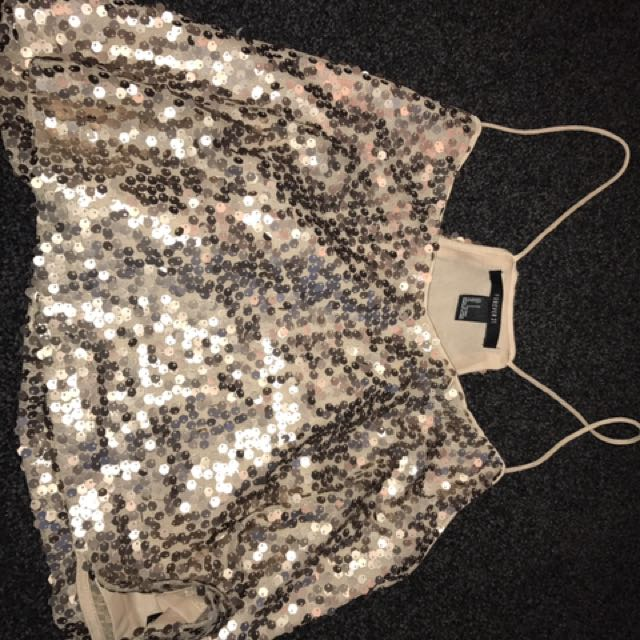 Sparkly Forever 21 Top