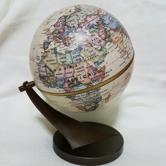 photo photo ... - Stellanova Germany Antique Desk Globe, Vintage & Collectibles