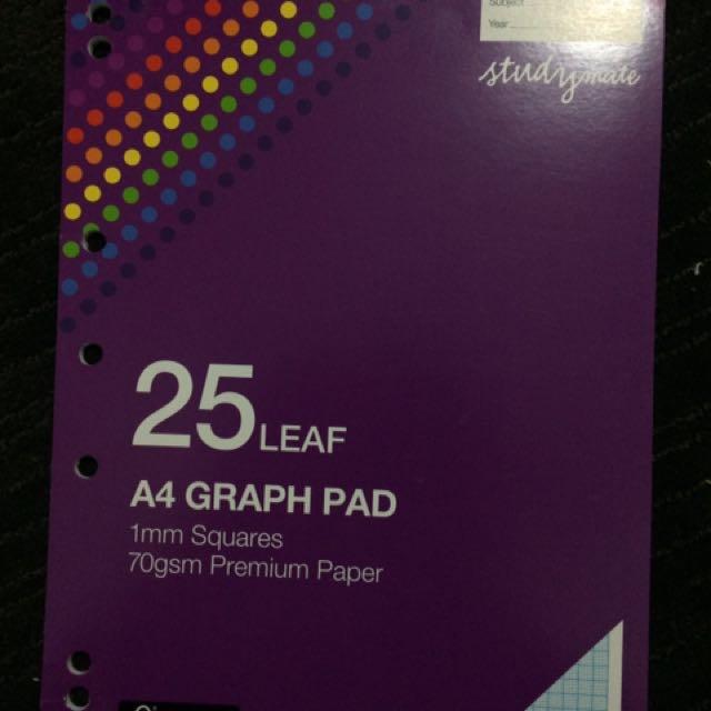 Studymate A4 Graph Pad