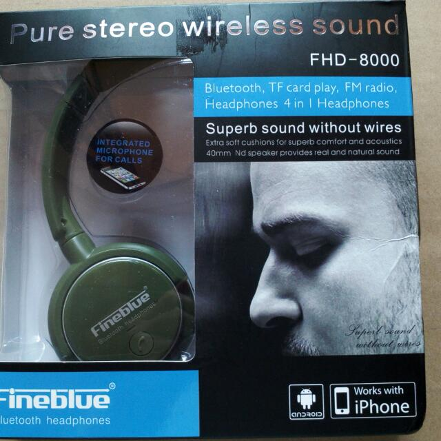 Super Bass Fine Blue FHD8000
