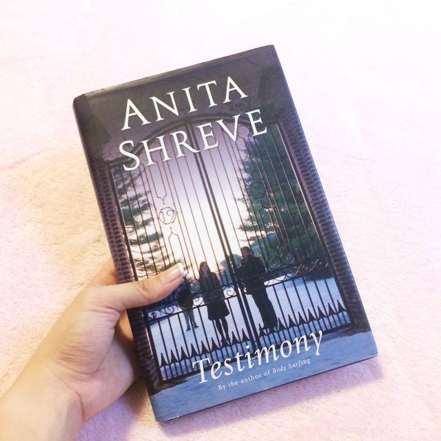 Testimony by Anita Shreve