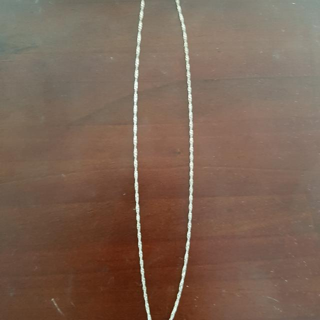Thin Plain Necklace