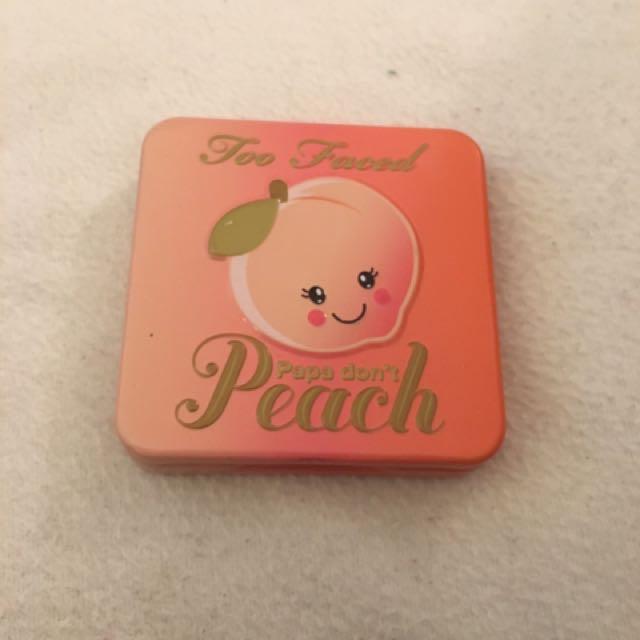 Too Faced Peach Blush