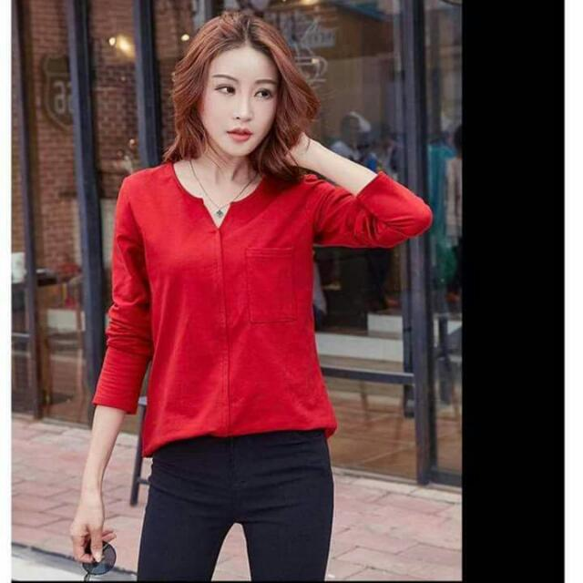 Trendy Tops (Red)