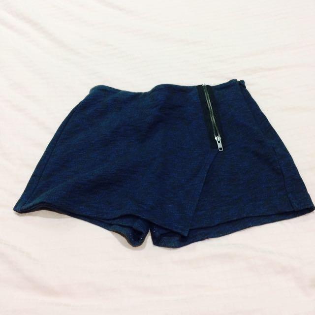 UNIQLO : Blue Skort (Rok Celana)