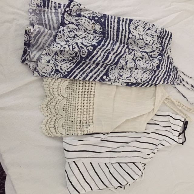 Various Womens Tops Summer