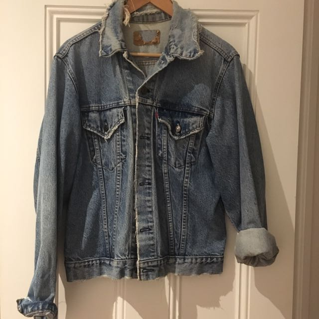 Vintage Levi's Boyfriend Denim Jacket