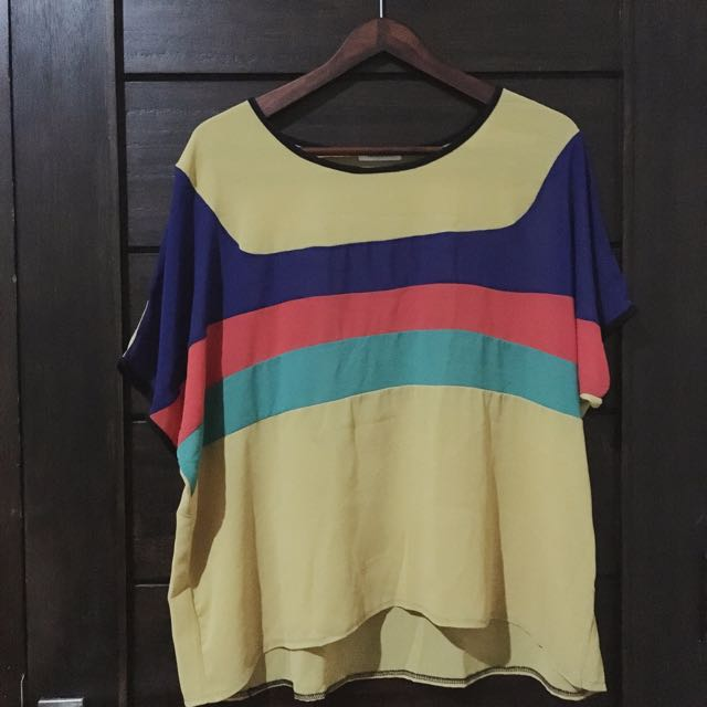 Yellowline Shirt - Baju Casual