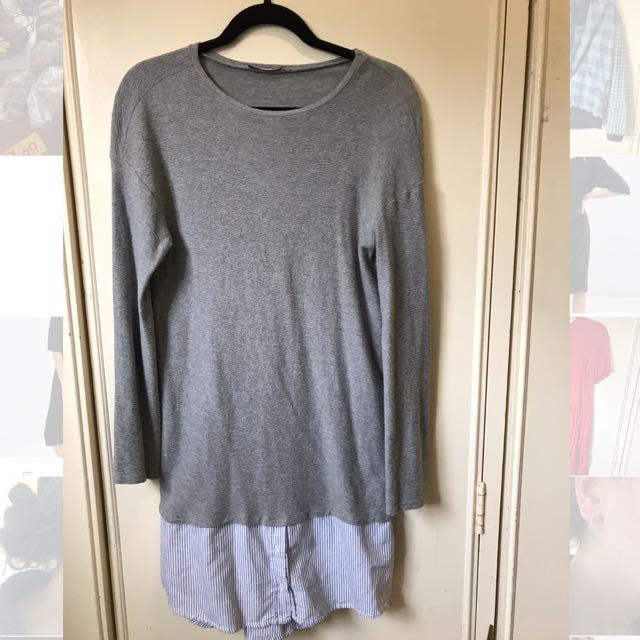 Zara Trafaluc Collection Shirt Dress