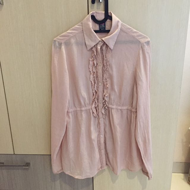 ZARA TRF Dusty Pink