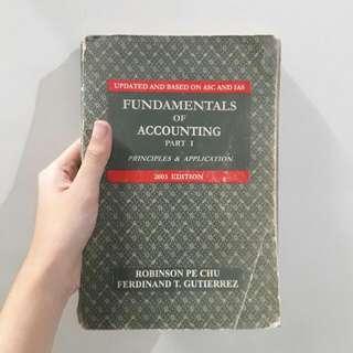 Fundamentals Of Accounting