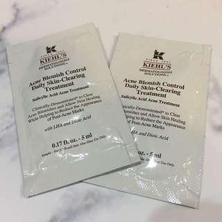 Take All Kiehl's Acne Blemish Treatment Samples