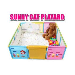 Sunny Cat Build My House Playyard