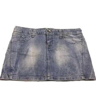 Rok Jeans TRF (zara)