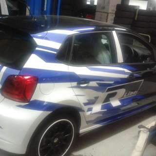 Car Stickers And Full Wrap