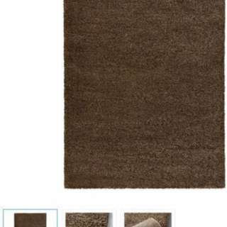 Brown Rug BRAND NEW -two Sizes Available