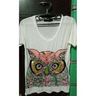 Seethrough White Owl