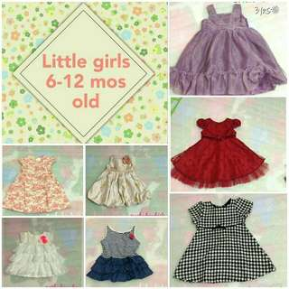 Little Girls preloved clothes 🌼 6-18 mos old 🌼