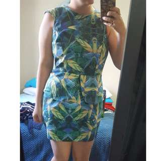 Cooper St Street Palm Leaf Dress (14)
