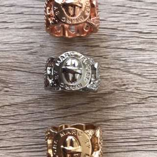 Marc Jacobs Rings (3 Colours To Choose From)