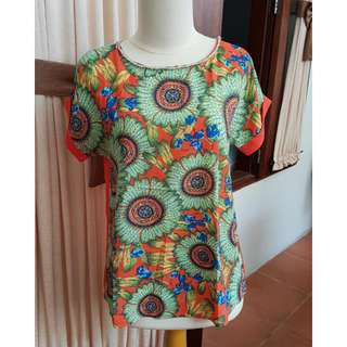 Blouse Ecole S Bahan Polyester 100%