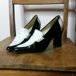 Black And White Ugorossetti Heels