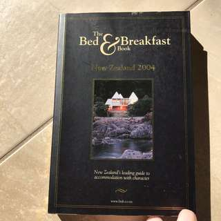 The Bed And Breakfast Book.