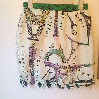 Vintage Peach Berserk Skirt