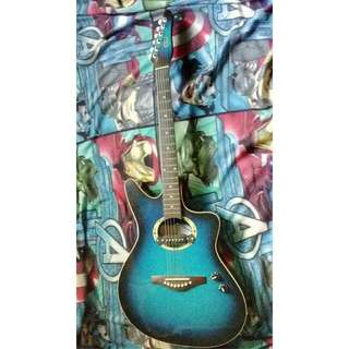 Noel Lumanog Acoustic Guitar (BLUE)