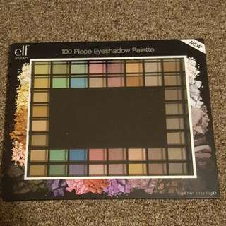 Elf Cosmetics 100 Piece Eyeshadow Palletes