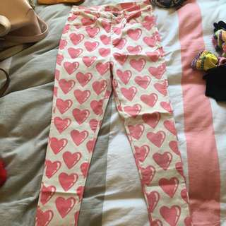 Lazy Oaf Heart Pants