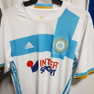 olympique marseille home football soccer shirt kit jersey top