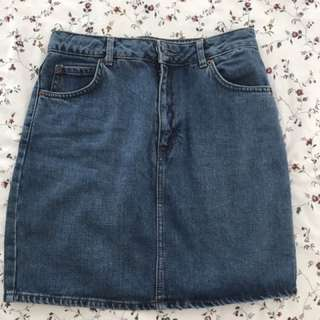 Topshop Denim Skirt 12
