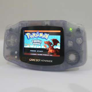 Nintendo Original Gameboy Advance AGB-001 With AGS-101 Backlit Screen + Glass screen [Preloved 8/10]