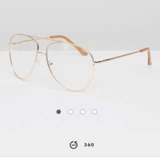 ASOS Geeky Chic Glasses