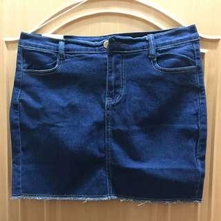 💯🆕牛仔裙 size:L