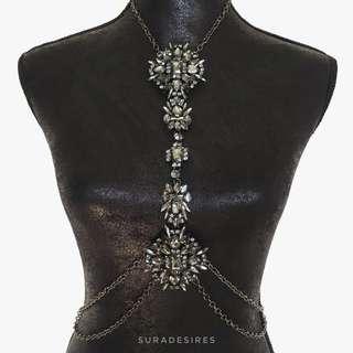 Body Chain - All black